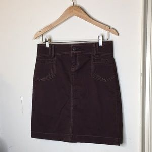 Old Navy Size 0 Brown Skirt